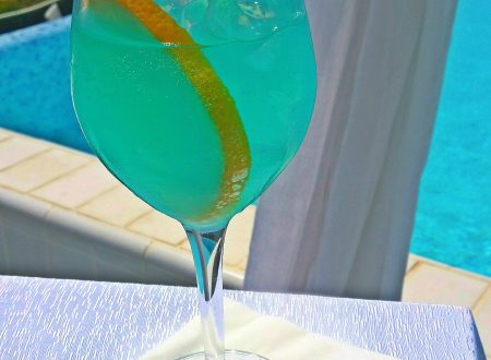 Cocktail analcolico Blueberry mirtilli e limone