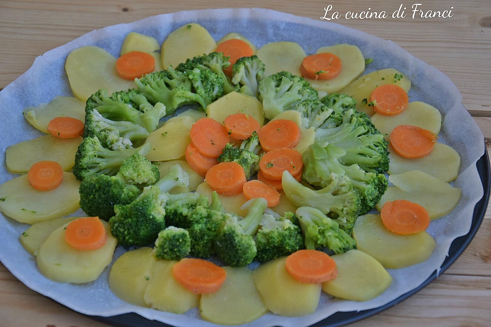 Verdure gratinate asiago e mozzarella 2