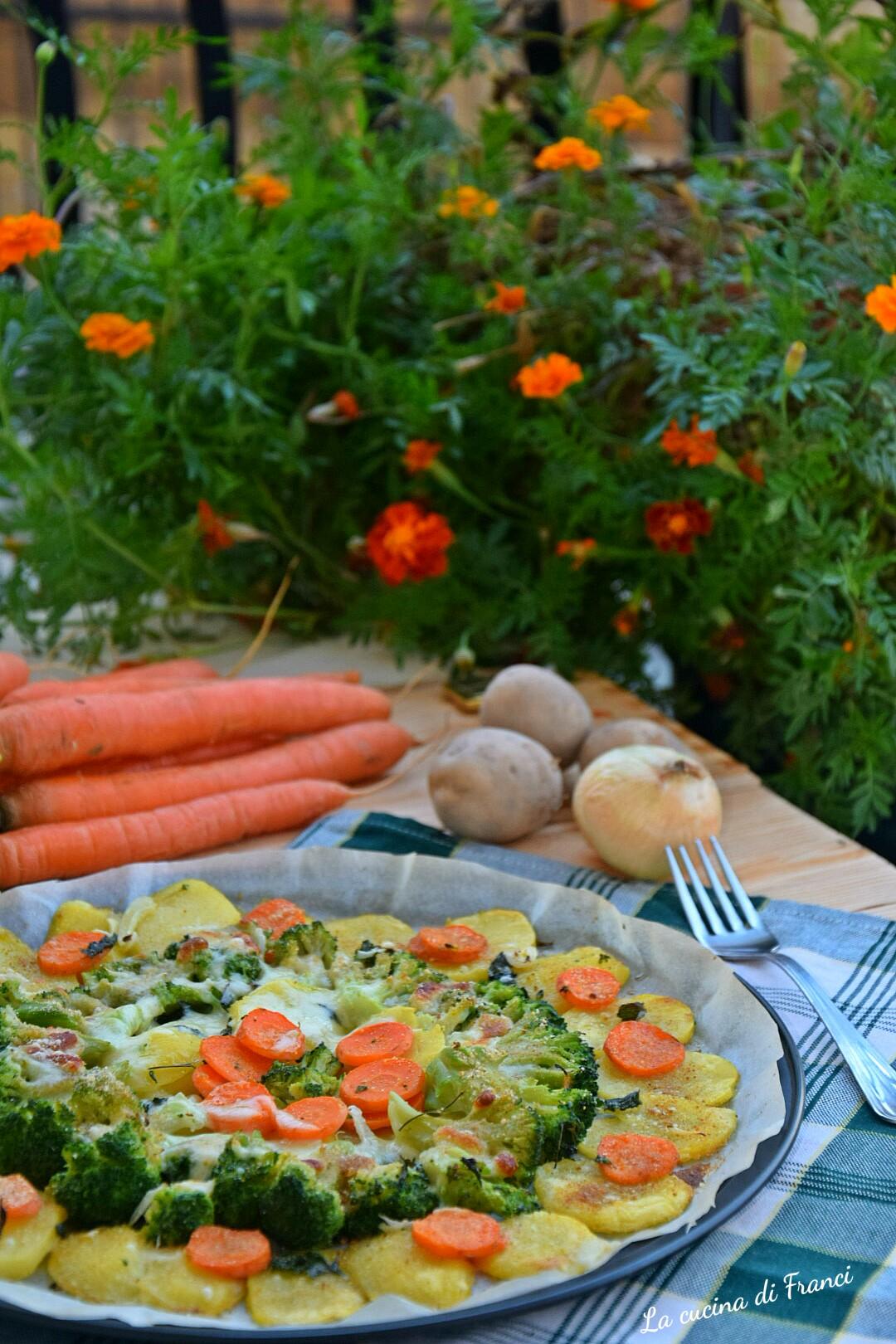 Verdure gratinate asiago e mozzarella 3