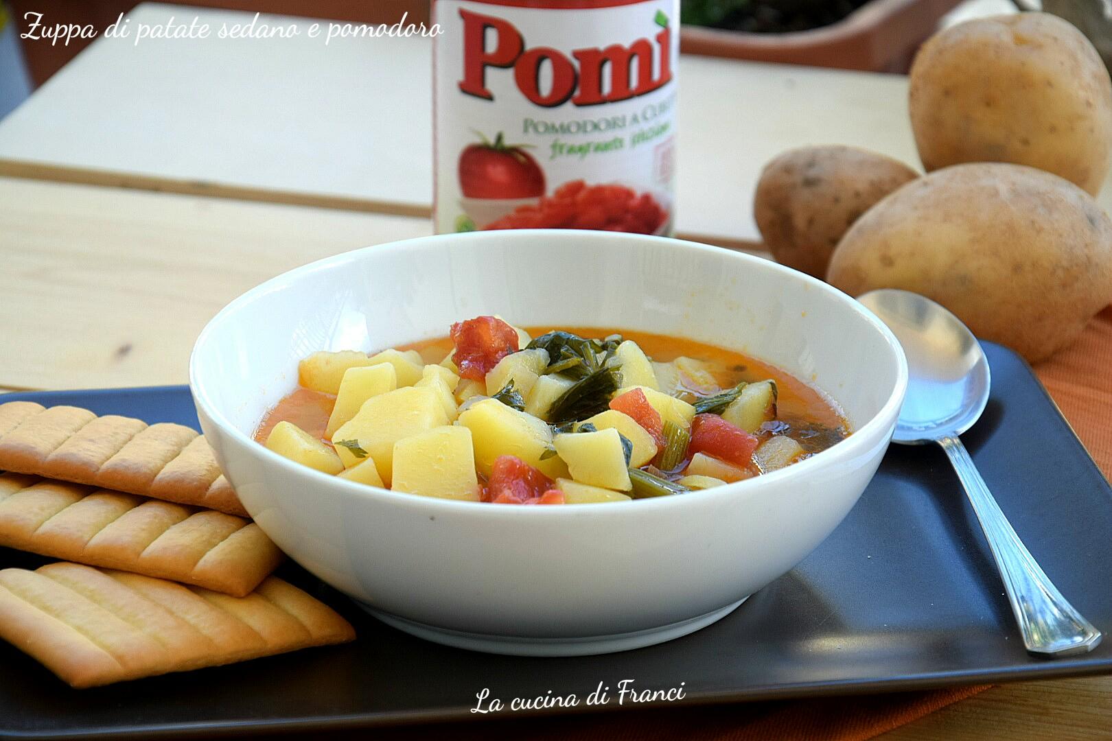 Zuppa di patate sedano e pomodoro 2