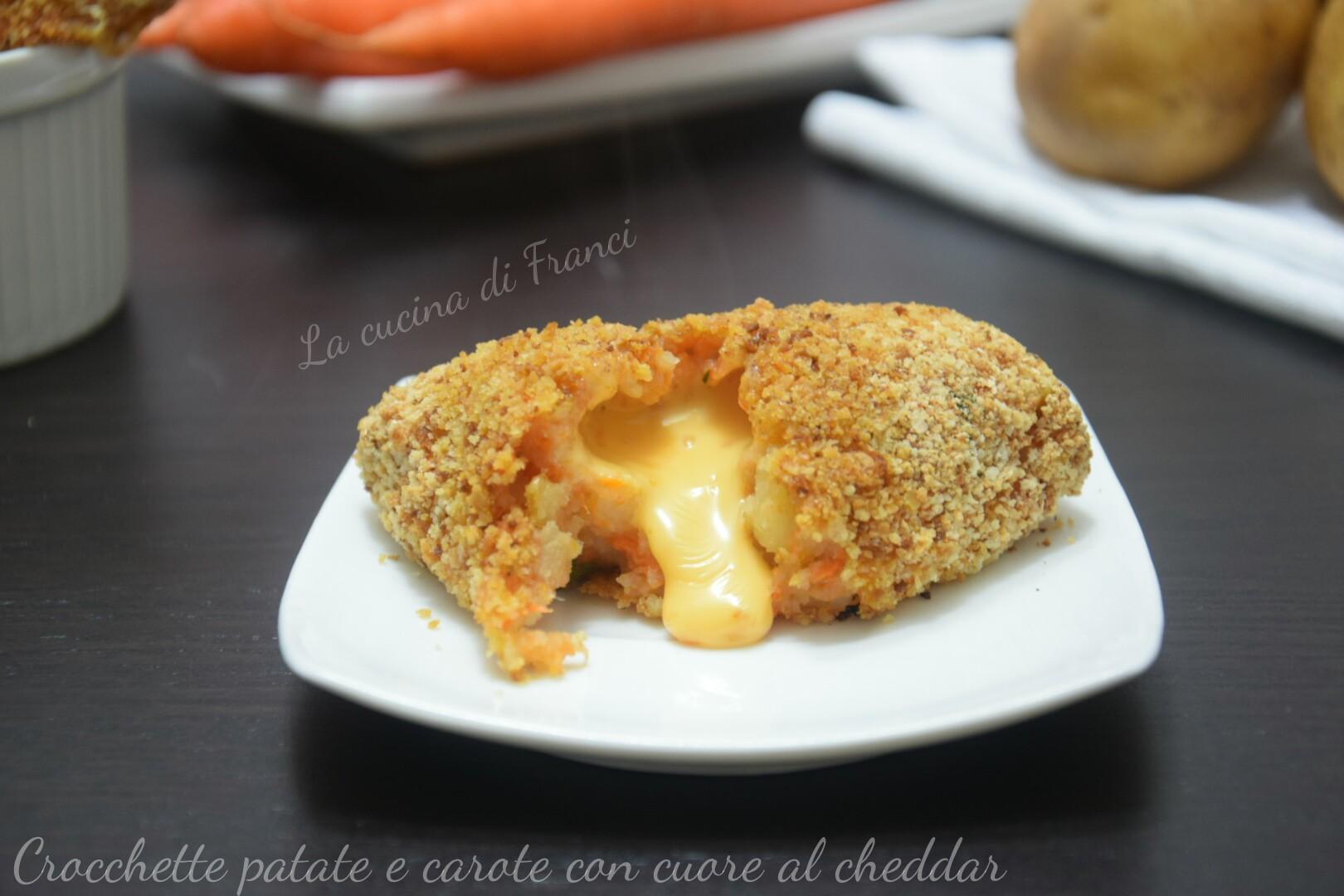 Crocchette patate e carote filanti 3