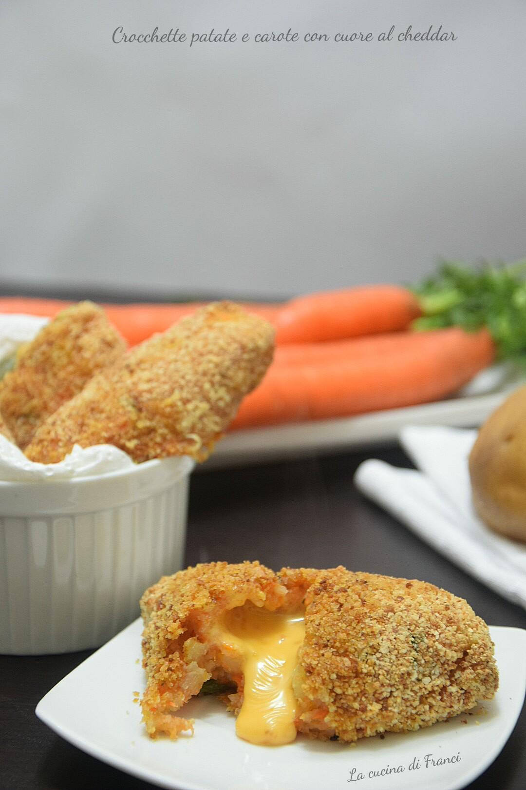 Crocchette patate e carote filanti 6