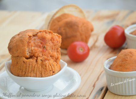 Muffin al pomodoro senza glutine latte uova