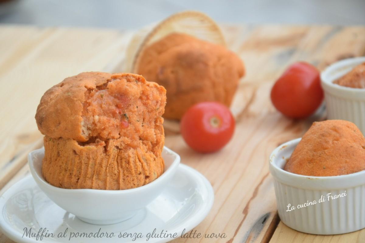 Muffin al pomodoro senza glutine latte uova 2