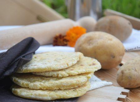 Pane di patate in padella senza glutine e lievito