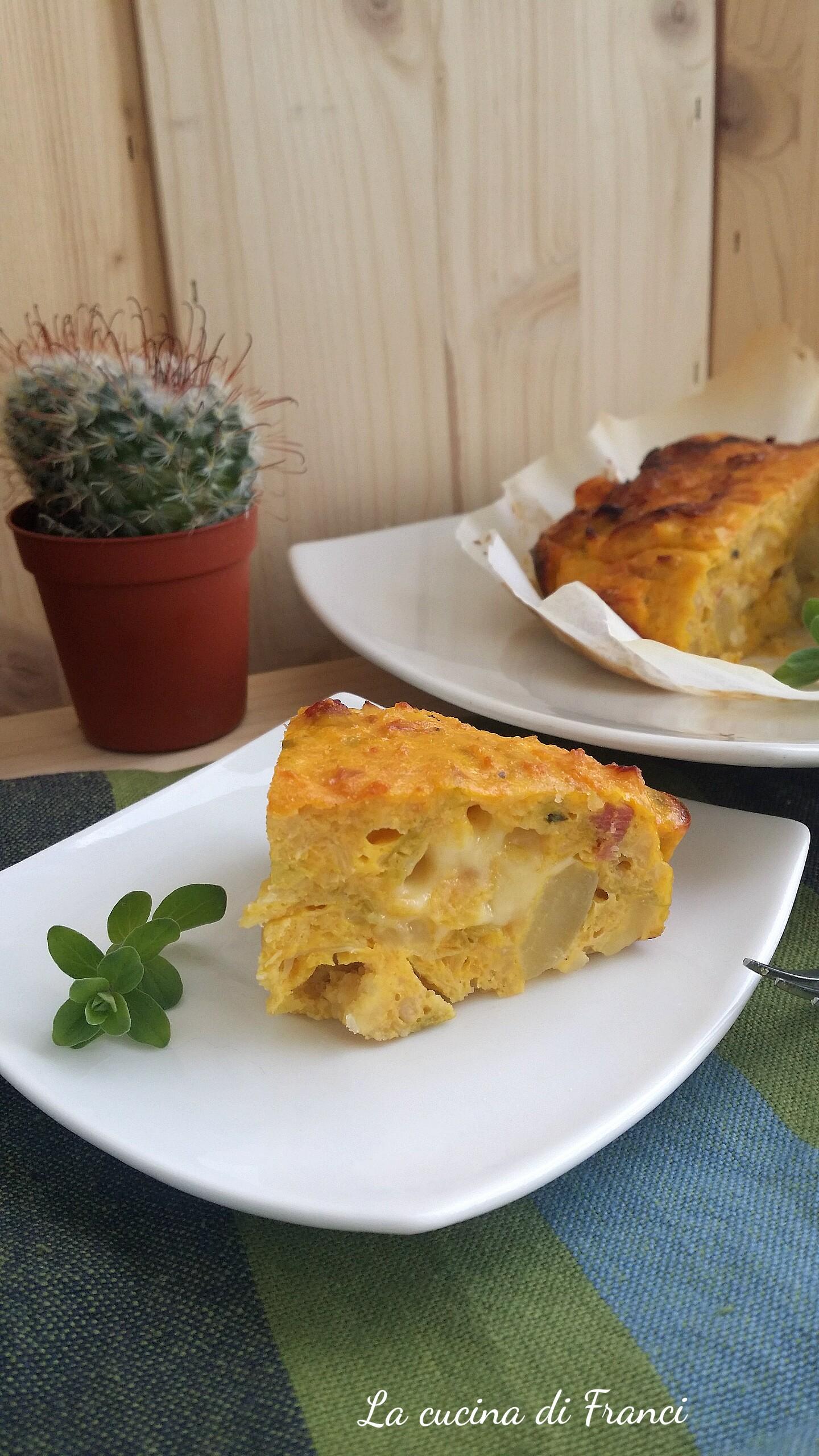 Tortino verza e patate 2