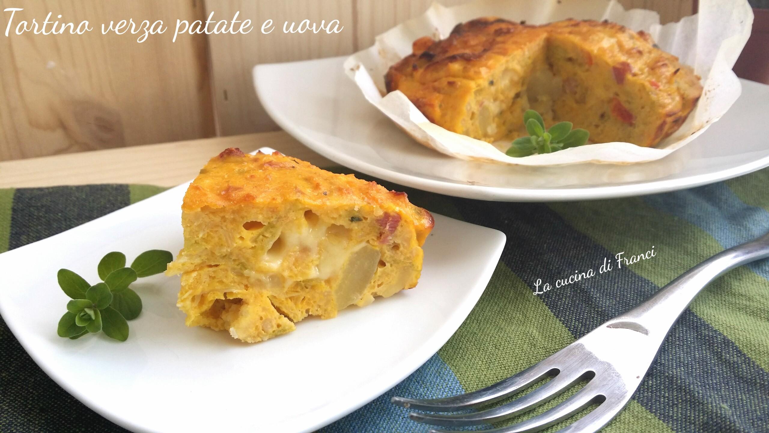 Tortino verza patate 3