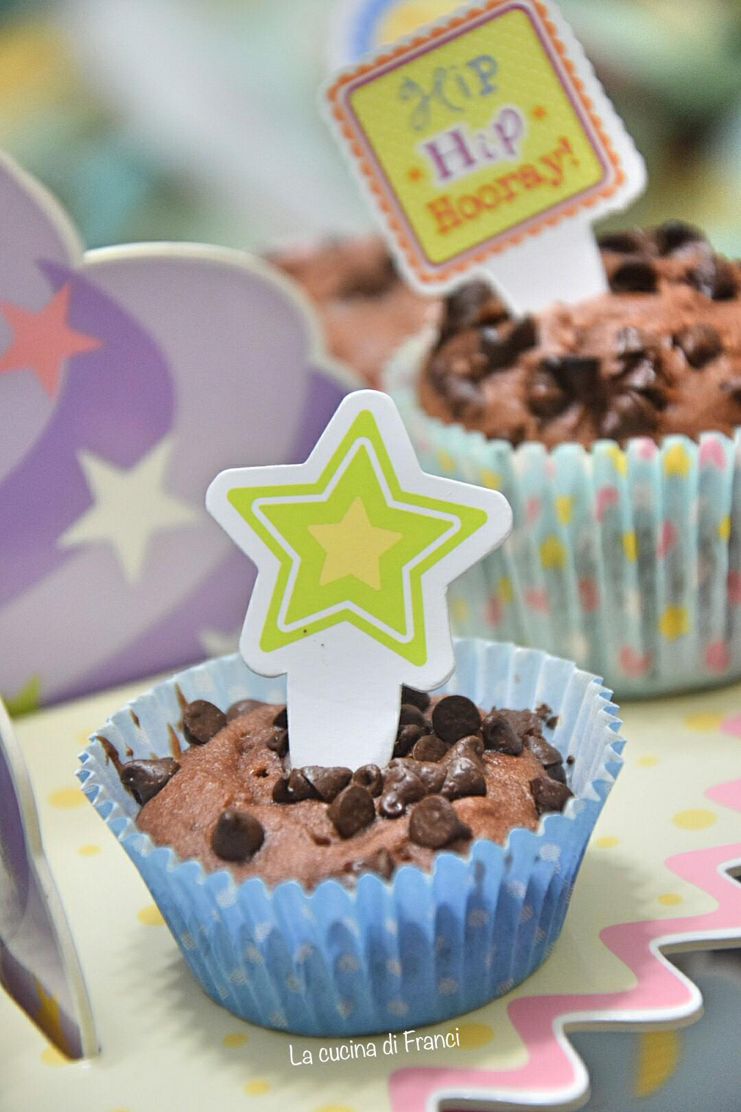 Muffin al cioccolato senza glutine e lattosio 4