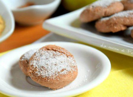 Biscotti cacao e mele senza glutine