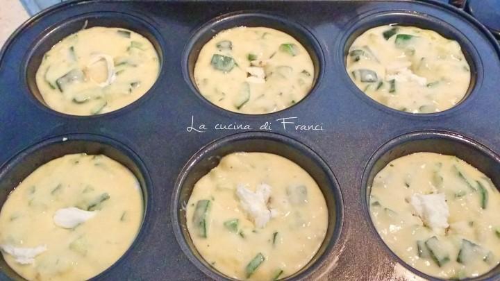 Muffin zucchine e pecorino al tartufo 2