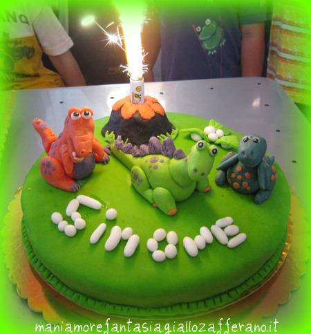 torta dinosauri dinosauri in pdz