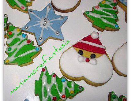 Biscotti decorati per Victor….
