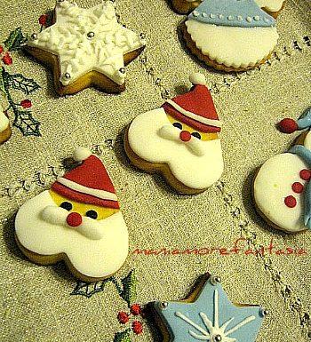 Biscotti natalizi decorati…