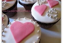Cupcake al cioccolato… (S. Valentino in anticipo!)
