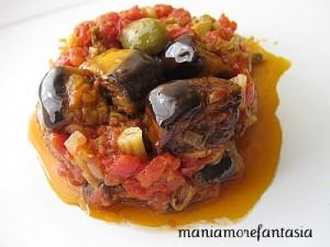 caponata di melanzane, ricette estive della cucina siciliana