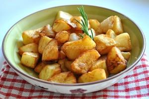 patate fritte con le cipolle