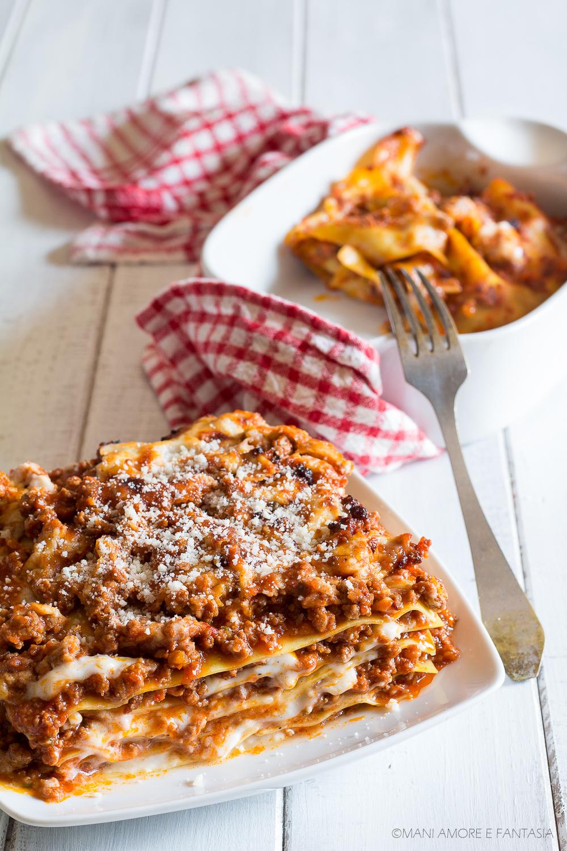 pasticcio di lasagne al ragù