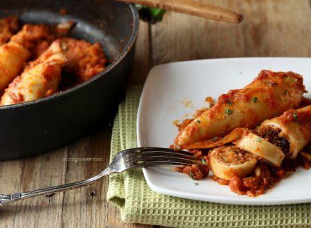 Calamari ripieni alla siciliana