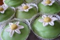 Cupcake di ricotta e fragole... o muffin?
