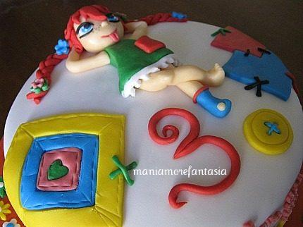Torta Pippi Calzelunghe
