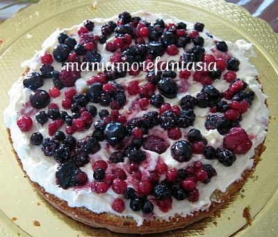 Sponge cake chantilly e frutti di bosco ricetta base - Torte salate decorate ...