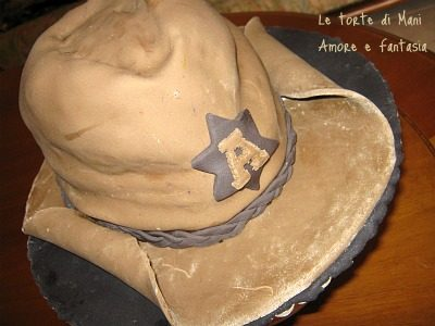 Cowboy cake… per l'uomo che sussurra ai cavalli!