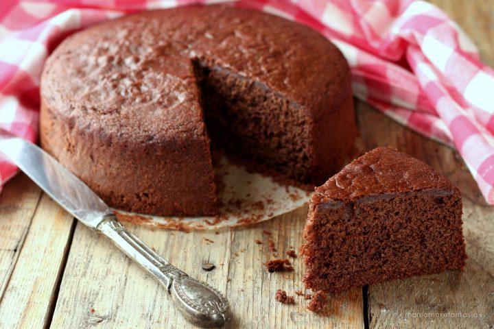 torta al cioccolato semplice e buona