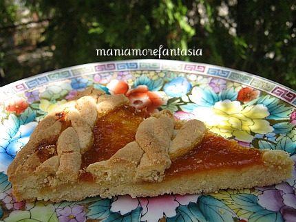 Crostata intrecciata… di albicocche