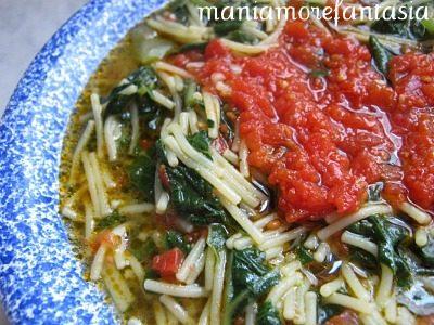 La pasta con i tenerumi, ricetta palermitana