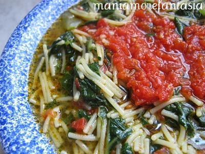 La pasta con i tenerumi ricetta palermitana ricette for Ricette con la pasta
