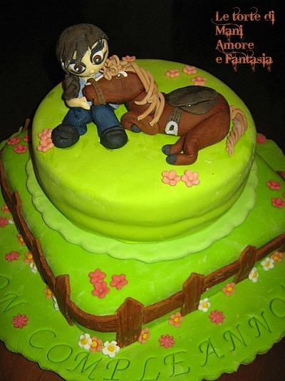 Cowgirl cake per la donna che sussurra ai cavalli! | Mani amore