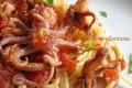 Spaghetti e calamaretti