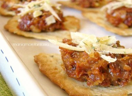 Lo sfincione in un boccone… Ricetta patè di sfincione siciliano