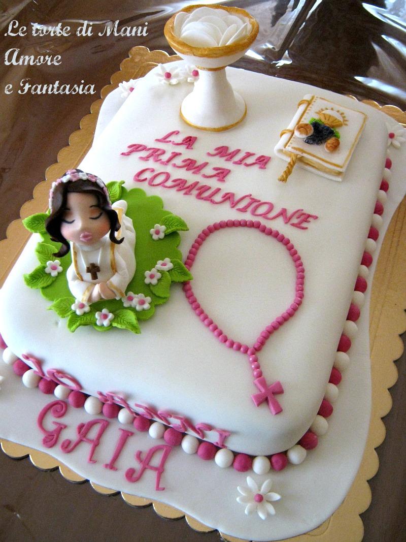 Molto Torta decorata Prima Comunione | torta prima comunione | torte pdz DV38