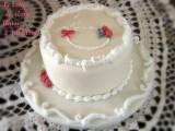 torta decorata per la festa della mamma