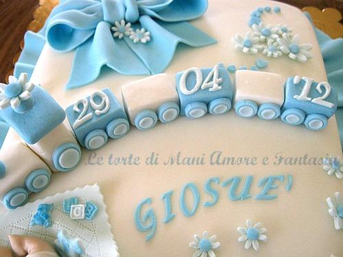 Torta decorata per un battesimo torte battesimo torte decorate pdz - Decorazioni battesimo bimbo ...