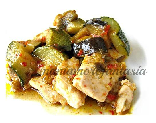 Bocconcini di pollo con ortaggi estivi ricette estive for Ortaggi estivi