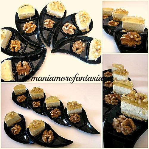 cheesecake salato fingerfood