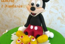 Torta decorata Topolino & friends…