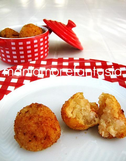polpette di gamberi e patate
