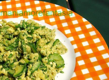 Uova e zucchine strapazzate ricetta light