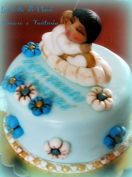 torta decorata thun