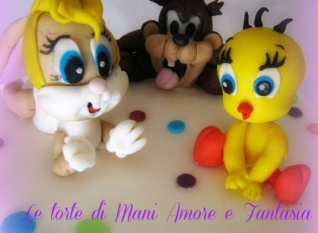 Torta decorata Baby Looney Toons