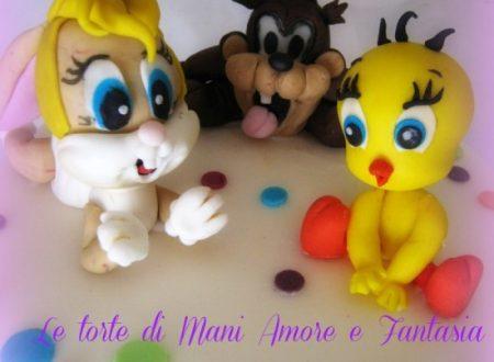 Torta decorata Baby Looney Toons