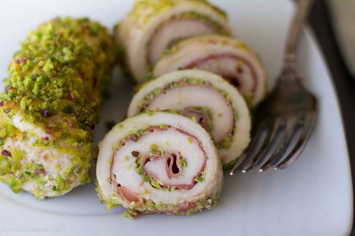 involtini pollo pistacchi