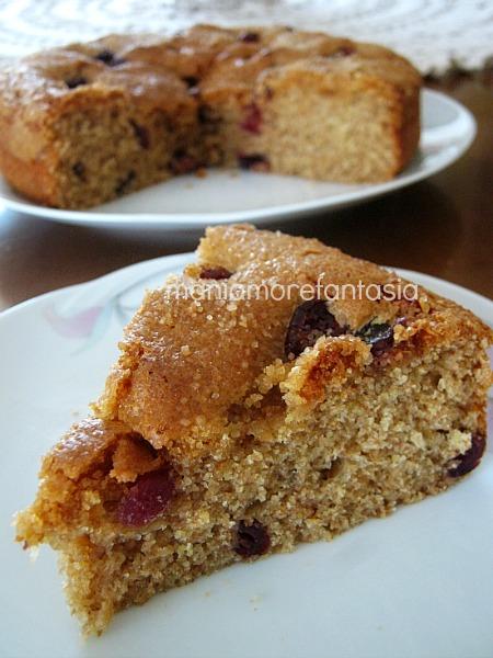Torta integrale ai mirtilli per la prima colazione for Dolci dietetici