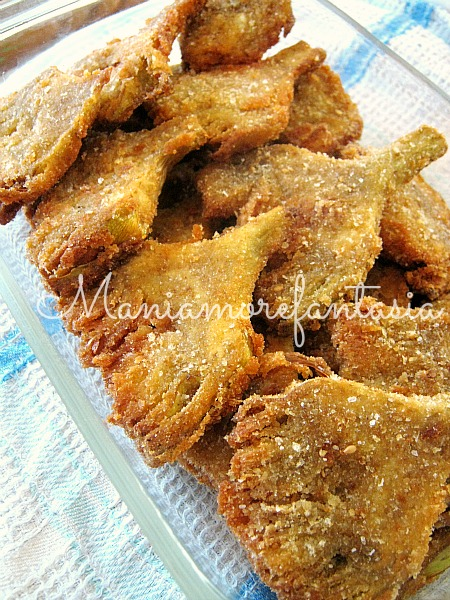 Carciofi Fritti Ricetta Antipasto Ricette Con I Carciofi