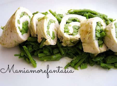Involtini di pollo agli asparagi, ricetta light