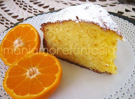Una felicissima torta di mandarini tristi
