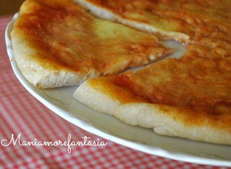 Pizza margherita, napoletana doc!